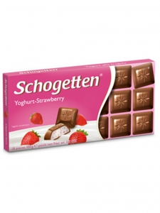 Yoghurt Strawberry Chocolate (Schogetten,Germany)