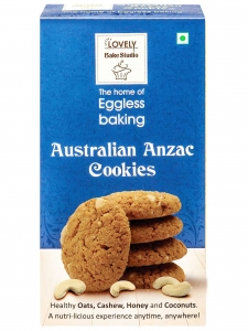 Australian Anzac Cookies (Lovely Sweets, Jalandhar)