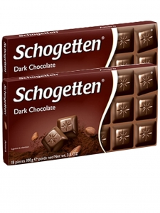 Dark Chocolate 100g (Pack of 2) (Schogetten,Germany)
