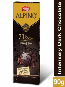 Nestle ALPINO 71% Cocoa - Intensely Dark Chocolate 90gm