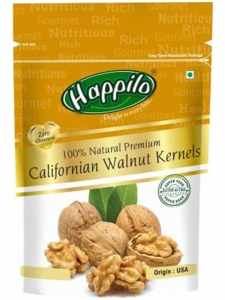 Premium 100% Natural Californian Walnut Kernels-( Happilo , Bengaluru)