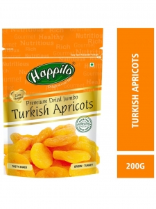 Premium Turkish Apricots-( Happilo, Bengaluru)