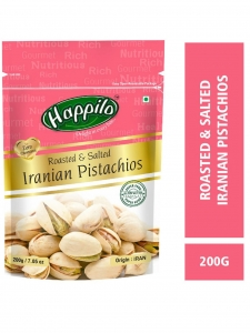 Premium IR Roasted & Salted Pistachios-( Happilo, Bengaluru )