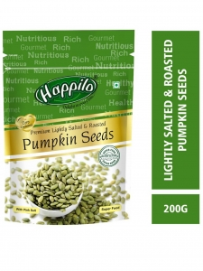 Premium Pumpkin seeds - Roasted, lightly salted- ( Happilo, Bengaluru)