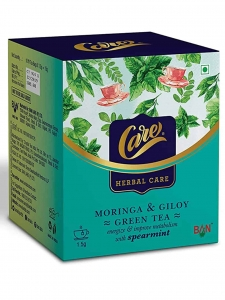 Moringa & Giloy Green Tea with Spearmint ( Care, Rajkot )