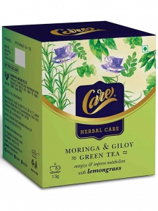 Moringa & Giloy Green Tea with Lemongrass ( Care, Rajkot )
