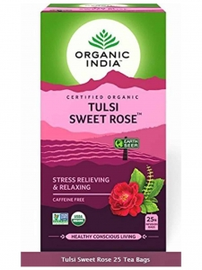 Tulsi Sweet Rose Tea ( Organic India, Lucknow )