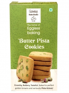 Butter Pista Cookies (Lovely Sweets, Jalandhar)