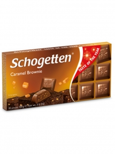 Caramel Brownie Chocolate (Schogetten,Germany)