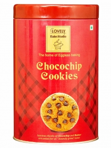 Chocochip Cookies Tin Box (Lovely Sweets, Jalandhar)