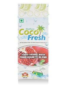 Tender Coconut Water Pomegranate Blend ( Madhura Coco Fresh )