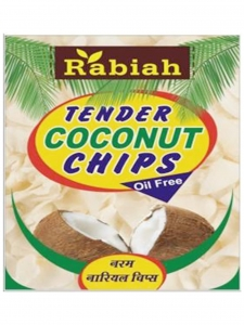 Tender Coconut Chips (Rabiah, Delhi)