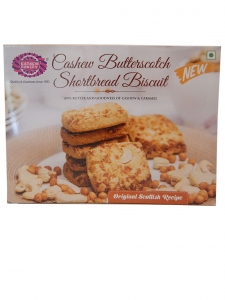Cashew Butterscotch Shortbread Biscuit ( Karachi Bakery, Hyderabad )