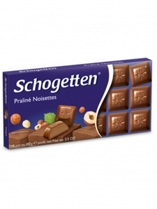 Praline` Noisettes Chocolate (Schogetten,Germany)