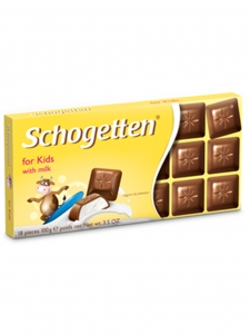For Kids With Milk Chocolate (Schogetten,Germany)