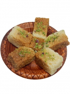 Special Milk Cake (Meghraj Sweets, Chandni Chowk)