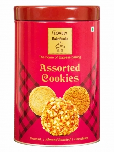 Coconut Almond Roasted Cornflakes Assorted Cookies (Lovely Sweets, Jalandhar)