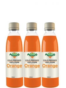 Fruit Juice,  Orange, Cold Pressed (Justpressed, Delhi)
