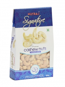 Roasted & Salted Cashew Nuts ( Nutraj Signature, Jammu)