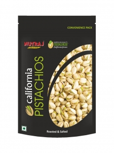 Roasted & Salted California Pistachios ( Nutraj, Jammu)