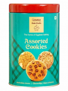 Australian Anzac Chocochip Oats & Raisins Assorted Cookies (Lovely Sweets, Jalandhar)