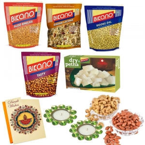 Bikano Namkeen Magic with Dryfruits-Diwali gifts (Bikano, Punjabi Bagh)
