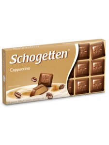 Cappuccino Chocolate (Schogetten,Germany)